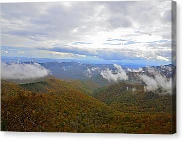 Mountain Seasons Canvas Print by Susan Leggett