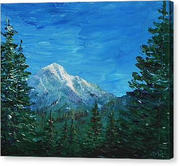 Mountain View Canvas Print by Anastasiya Malakhova