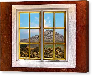 Mountain View Canvas Print by Semmick Photo