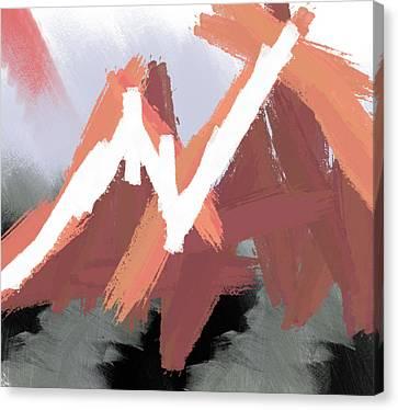 Mountains Canvas Print by Condor