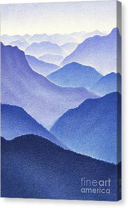 Mountains Canvas Print by Dirk Dzimirsky