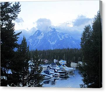 Mountains Of Grandeur Canvas Print by Mike Podhorzer