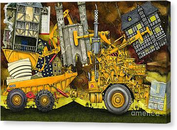 Moving Home Canvas Print by Colin Thompson