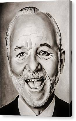 Mr Bill Murray Canvas Print by Brian Broadway