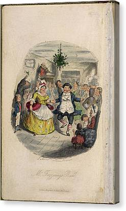 Mr Fezziwig's Ball Canvas Print by British Library