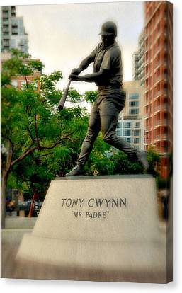 Mr. Padre- Hall Of Famer Canvas Print by See My  Photos