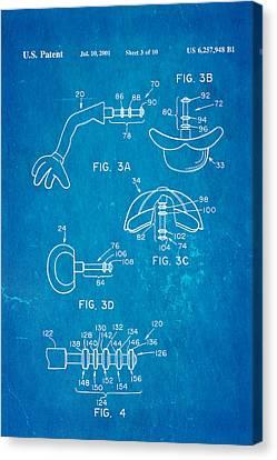 Mr Potato Head 2 Patent Art 2001 Blueprint Canvas Print by Ian Monk
