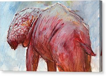 Mrbigpig Canvas Print by Ethan Harris