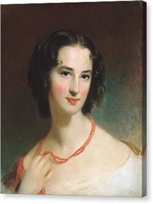 Mrs. James Montgomery Canvas Print by Celestial Images