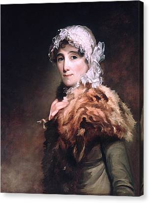 Mrs Katherine Matthews Canvas Print by Celestial Images