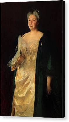 Mrs. William Playfair, 1887 Canvas Print by John Singer Sargent