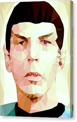 Mr.spock Canvas Print by Daniel Hapi