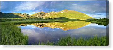 Mt Bierstadt From Guanella Pass Colorado Canvas Print by Tim Fitzharris