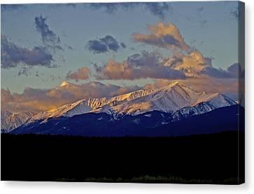 Mt Elbert Sunrise Canvas Print by Jeremy Rhoades