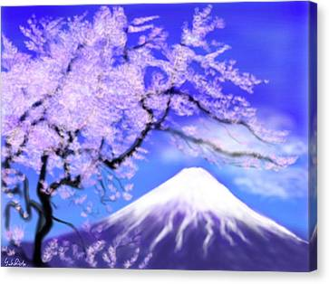 Mt Fuji 33 Canvas Print by Yoshiyuki Uchida
