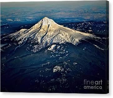 Mt Hood Canvas Print by Jon Burch Photography