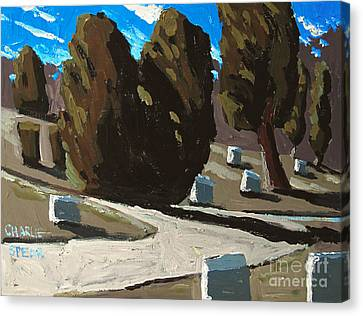 Mt Hope Canvas Print by Charlie Spear