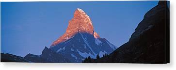 Mt Matterhorn Zermatt Switzerland Canvas Print by Panoramic Images