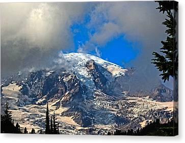 Mt. Rainier 3 Canvas Print by Paul Shefferly