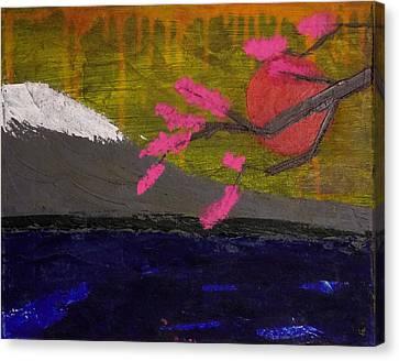 Mt. Sakura Canvas Print by Melanie Hamm