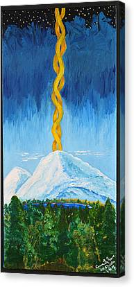 Mt. Shasta Canvas Print by Cassie Sears