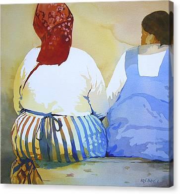 Muchachas Canvas Print by Kris Parins