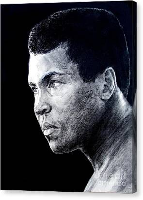 Muhammad Ali Formerly Known As Cassius Clay IIi Canvas Print by Jim Fitzpatrick