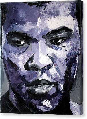 Muhammad Ali Canvas Print by Richard Day