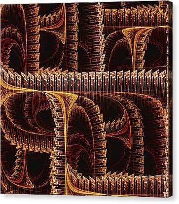Multidimensional Passages Canvas Print by Anastasiya Malakhova