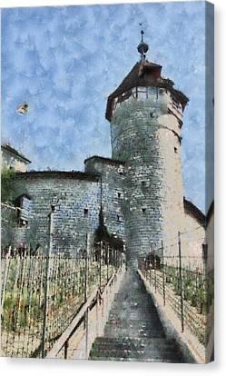 Munot Canvas Print by Ayse Deniz