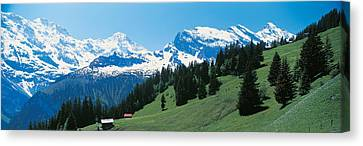 Murren Switzerland Canvas Print by Panoramic Images