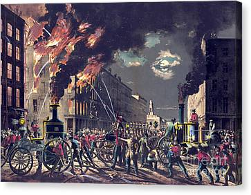 Muscle And Steam 1861 Canvas Print by Padre Art
