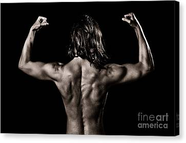 Muscles Canvas Print by Jt PhotoDesign