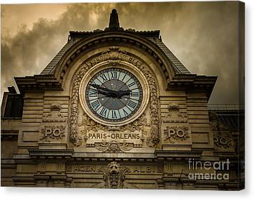 Musee Orsay Canvas Print by Inge Johnsson