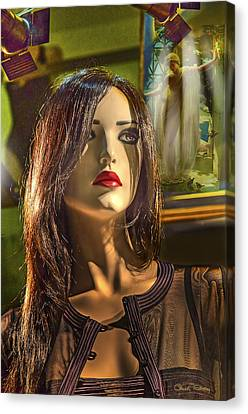 Museum Of Art Canvas Print by Chuck Staley