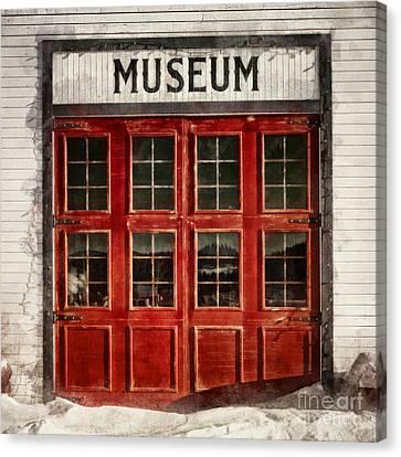 Museum Canvas Print by Priska Wettstein