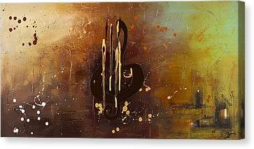 Music All Around Us Canvas Print by Carmen Guedez