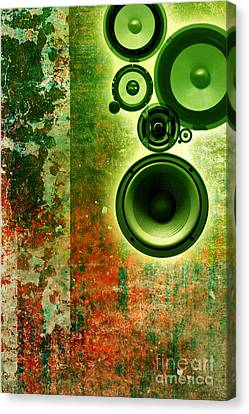 Music Background Canvas Print by Christophe ROLLAND
