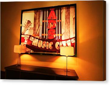 Music City Lights Canvas Print by Dan Sproul