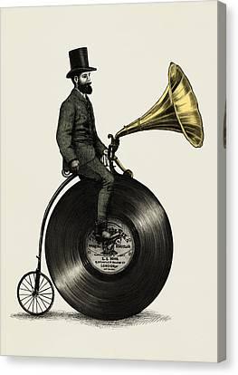 Music Man Canvas Print by Eric Fan