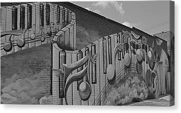 Musical Mural Canvas Print by Linda Dyer Kennedy