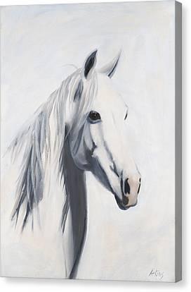 Mustang Mama Canvas Print by Jack Atkins