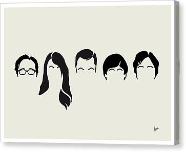 My-big-bang-hair-theory Canvas Print by Chungkong Art