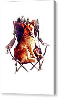 My Chair Canvas Print by Janice OConnor