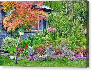 My Corner Of The World Canvas Print by Kathleen Struckle