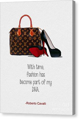 My Dna Canvas Print by Rebecca Jenkins
