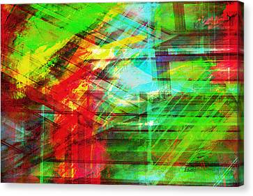 My Essence--your Impression Canvas Print by Francine Collier