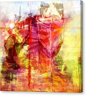 My Heart Belongs To You Ocean Canvas Print by PainterArtist FIN