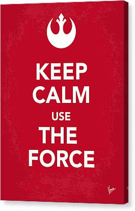 My Keep Calm Star Wars - Rebel Alliance-poster Canvas Print by Chungkong Art