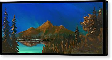 My Kind Of Peace Canvas Print by Steven Lebron Langston